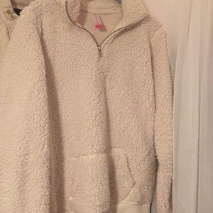 Very comfy half zip sweatshirt